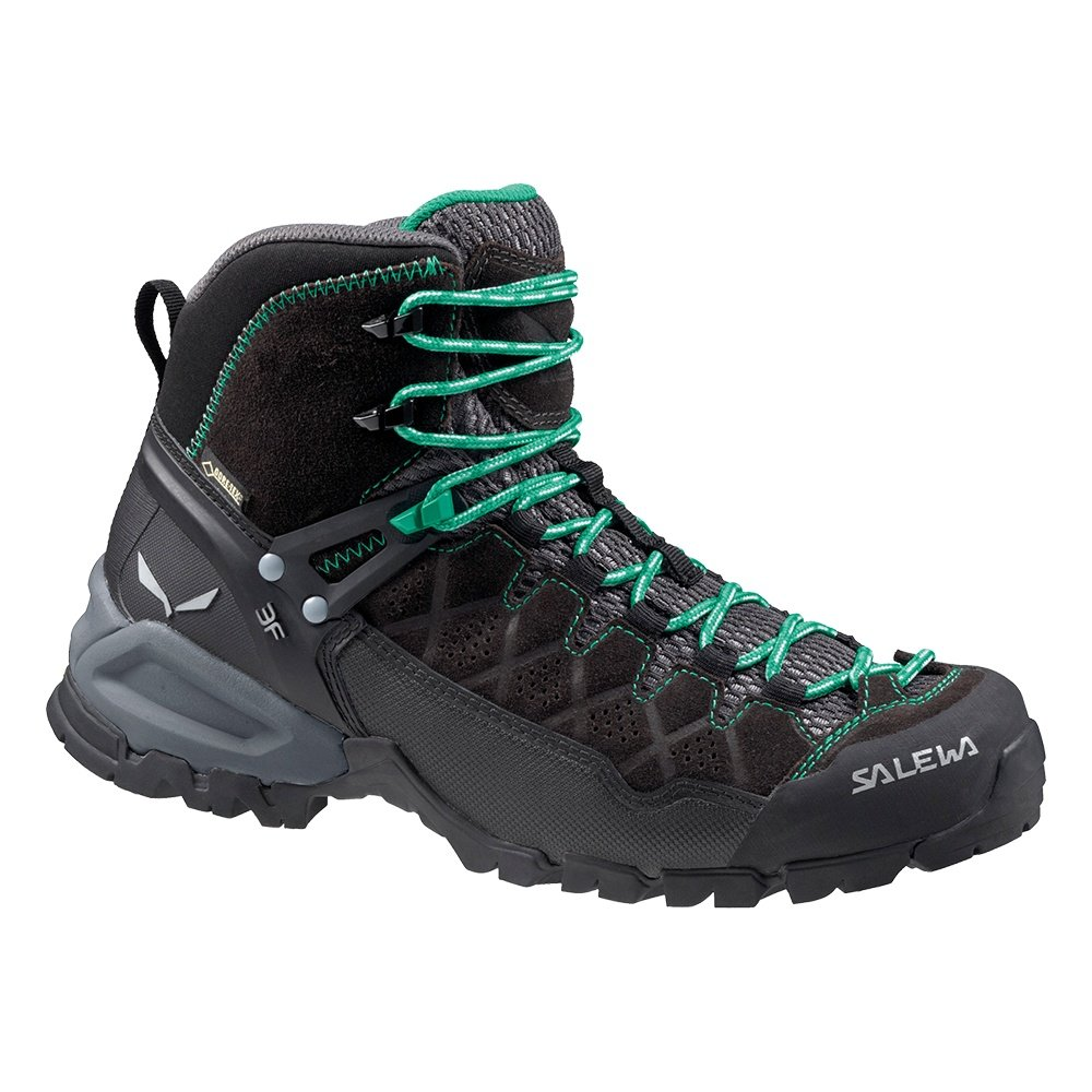 Salewa Alp Trainer Mid GORE-TEX Hiking Boots (Women's) - Black Out/Agata
