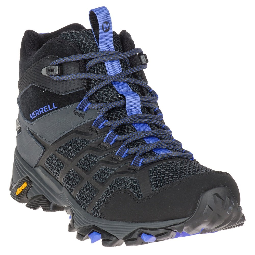 Merrell Moab FST Mid Waterproof Hiking Boot (Women's) - Black/Granite