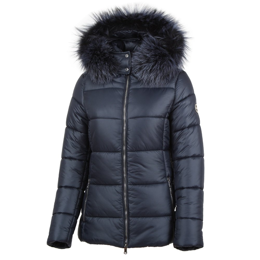 MDC Melanie Coat with Real Fur (Women's) - Night Blue