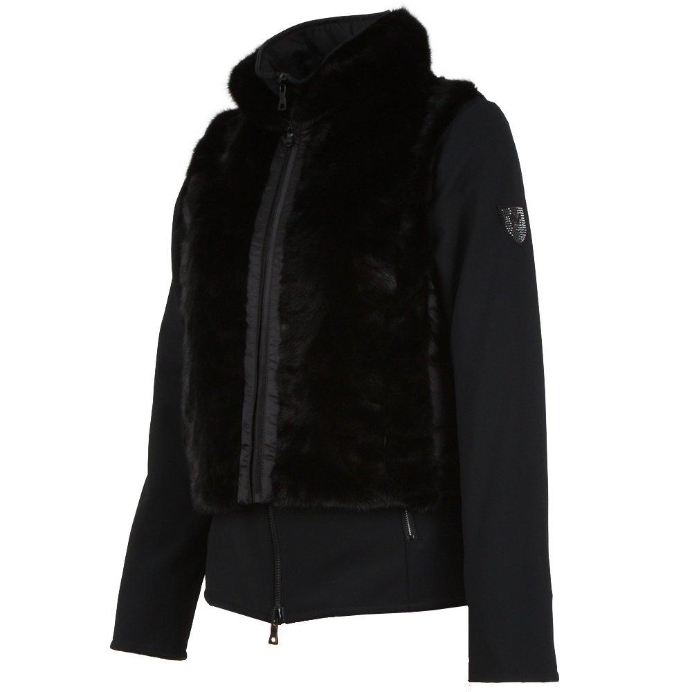 M. Miller Tanya Mink Combo Insulated Ski Jacket (Women's) - Black/Mink