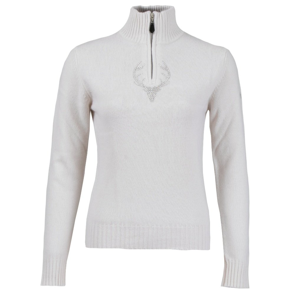 M. Miller Ashley Cashmere 1/4-Zip Sweater (Women's) - Ivory