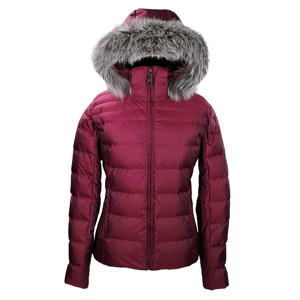 Skea Didi Parka Ski Jacket with Real Fur (Women's) - Cerise