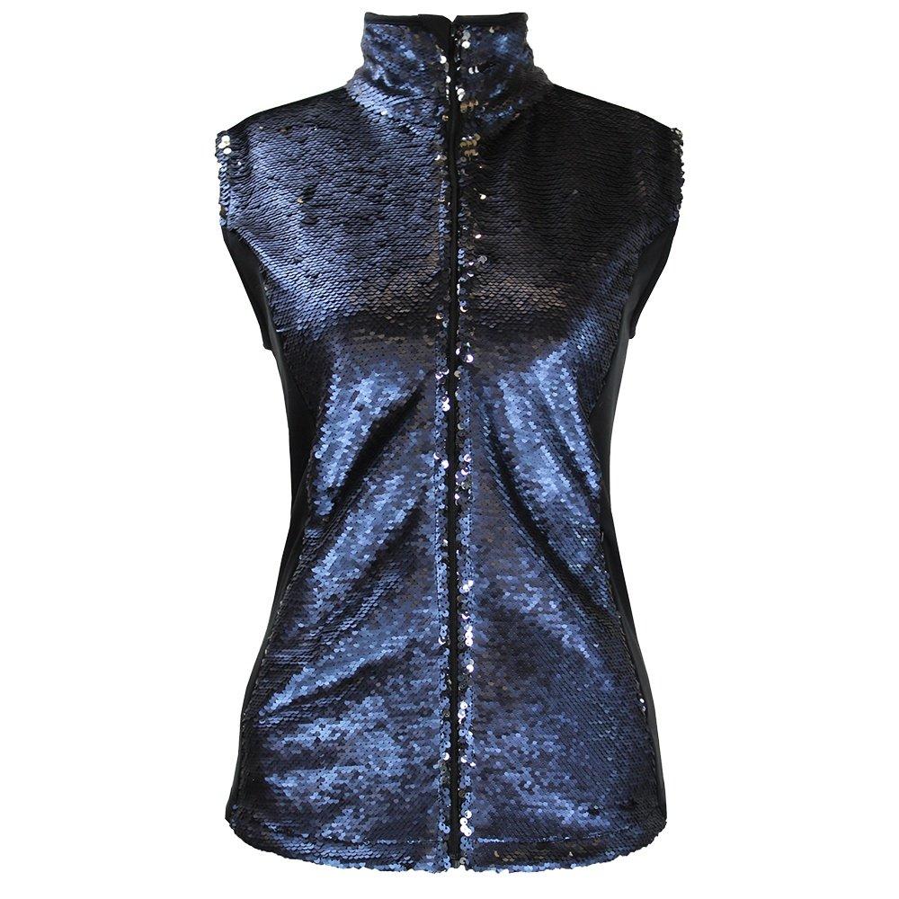 Skea Fancy Bhuel Vest (Women's) - Navy Sequin