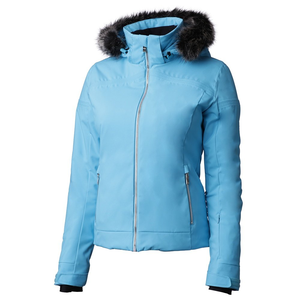 Descente Charlotte Insulated Ski Jacket (Women's) - Cerulean Blue/Black