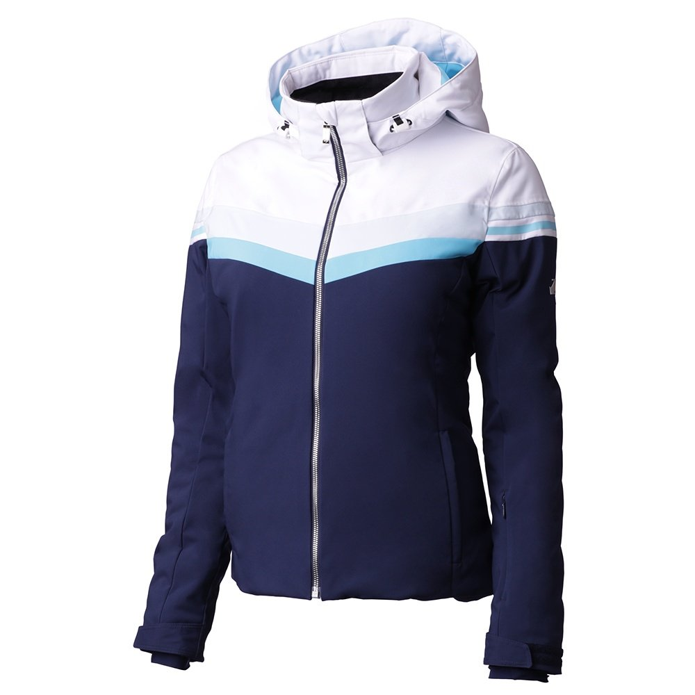 Descente Rowan Insulated Ski Jacket (Women's) - Dark Night/Super White/Mystic Ice