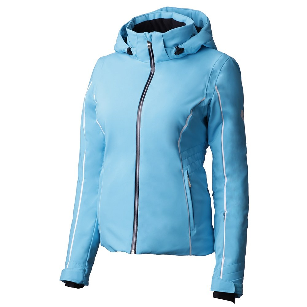 Descente Bree Insulated Ski Jacket (Women's) - Cerulean Blue/Super White/Black