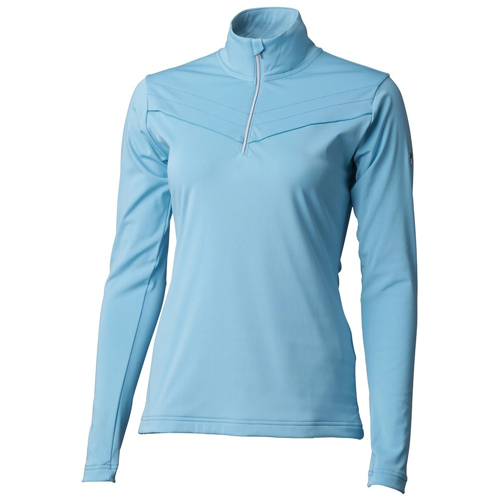 Descente Iclyn 1/4-Zip Turtleneck Mid-Layer (Women's) - Cerulean Blue
