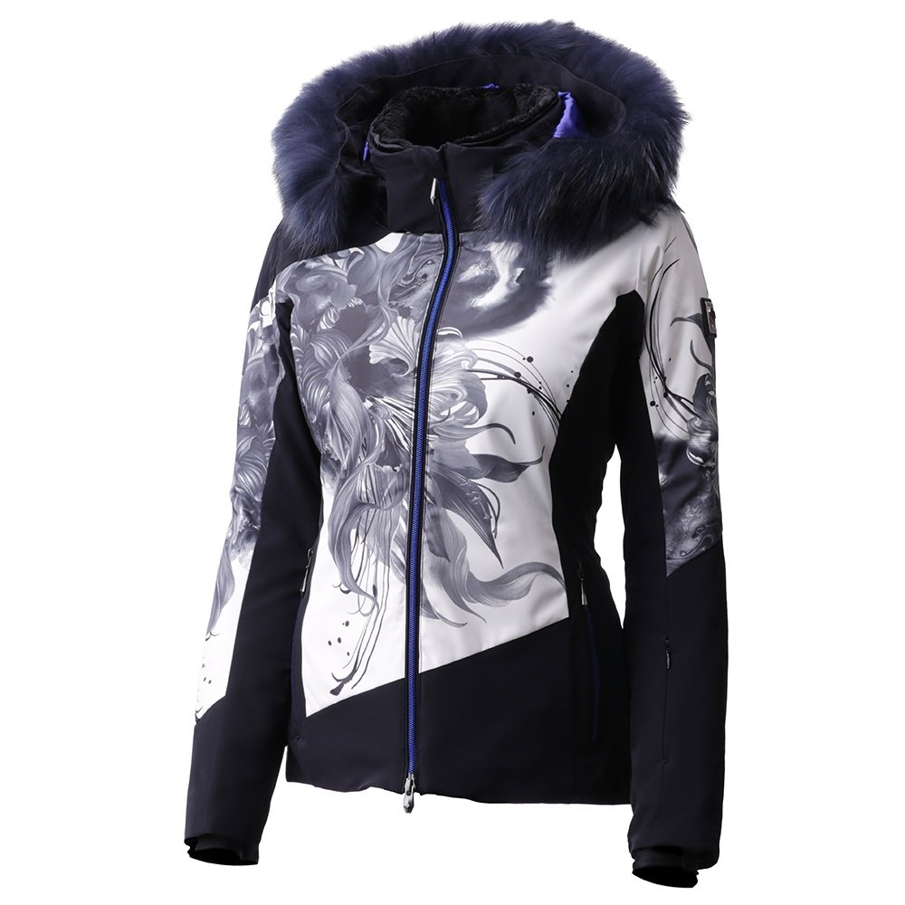 Descente Reina Down Ski Jacket with Real Fur (Women's) -