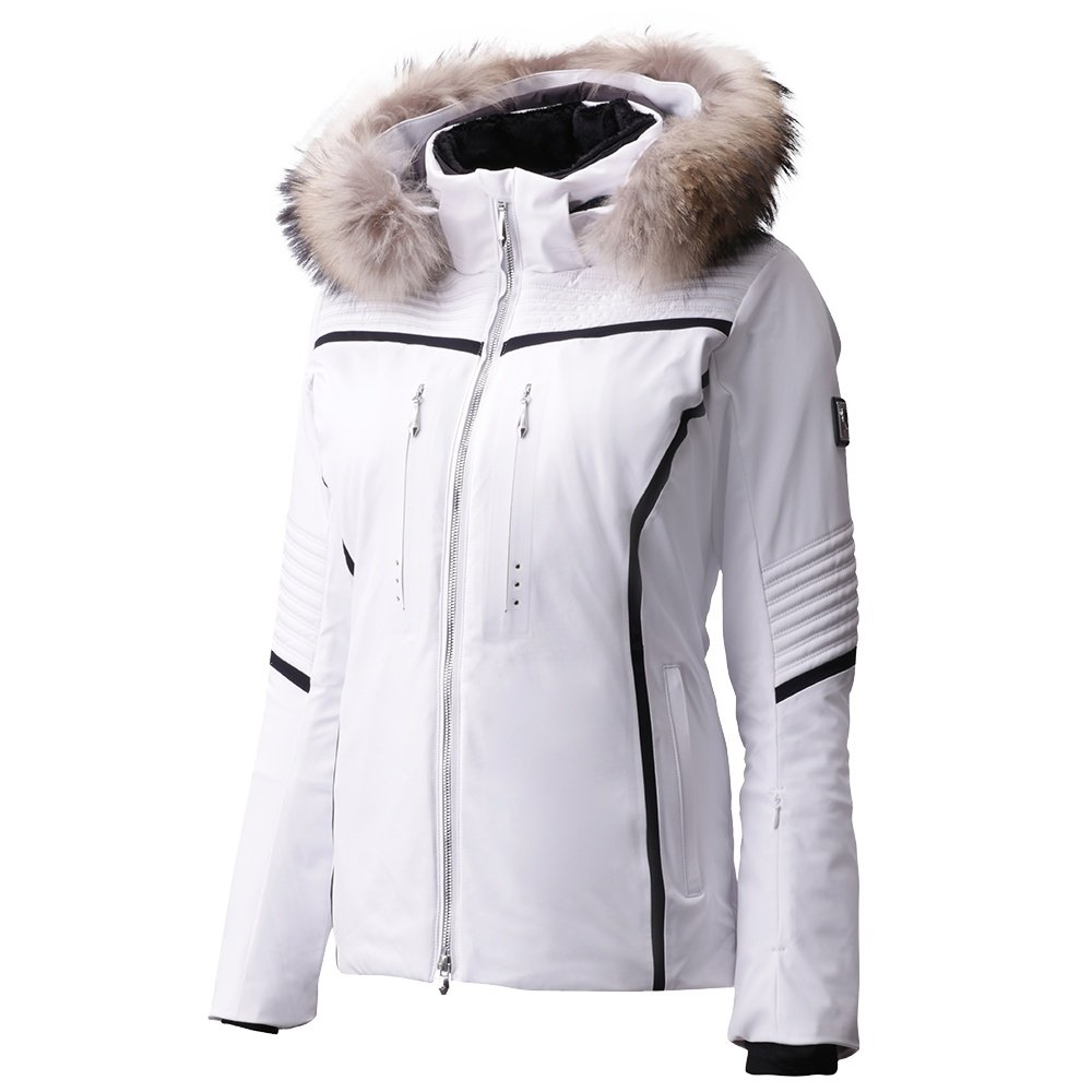 Descente Layla Insulated Ski Jacket with Real Fur (Women's) -