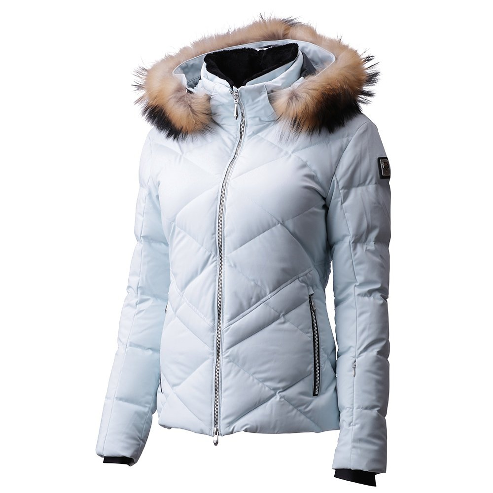 Descente Anabel Down Ski Jacket with Real Fur (Women's) - Mystic Ice