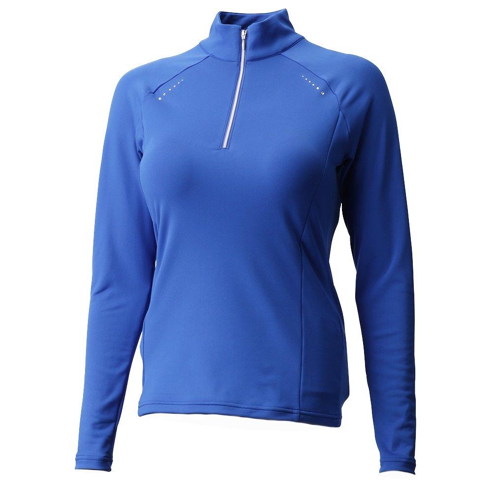 Descente Kelsey 1/4-Zip Turtleneck Mid-Layer (Women's) - Ocean Blue