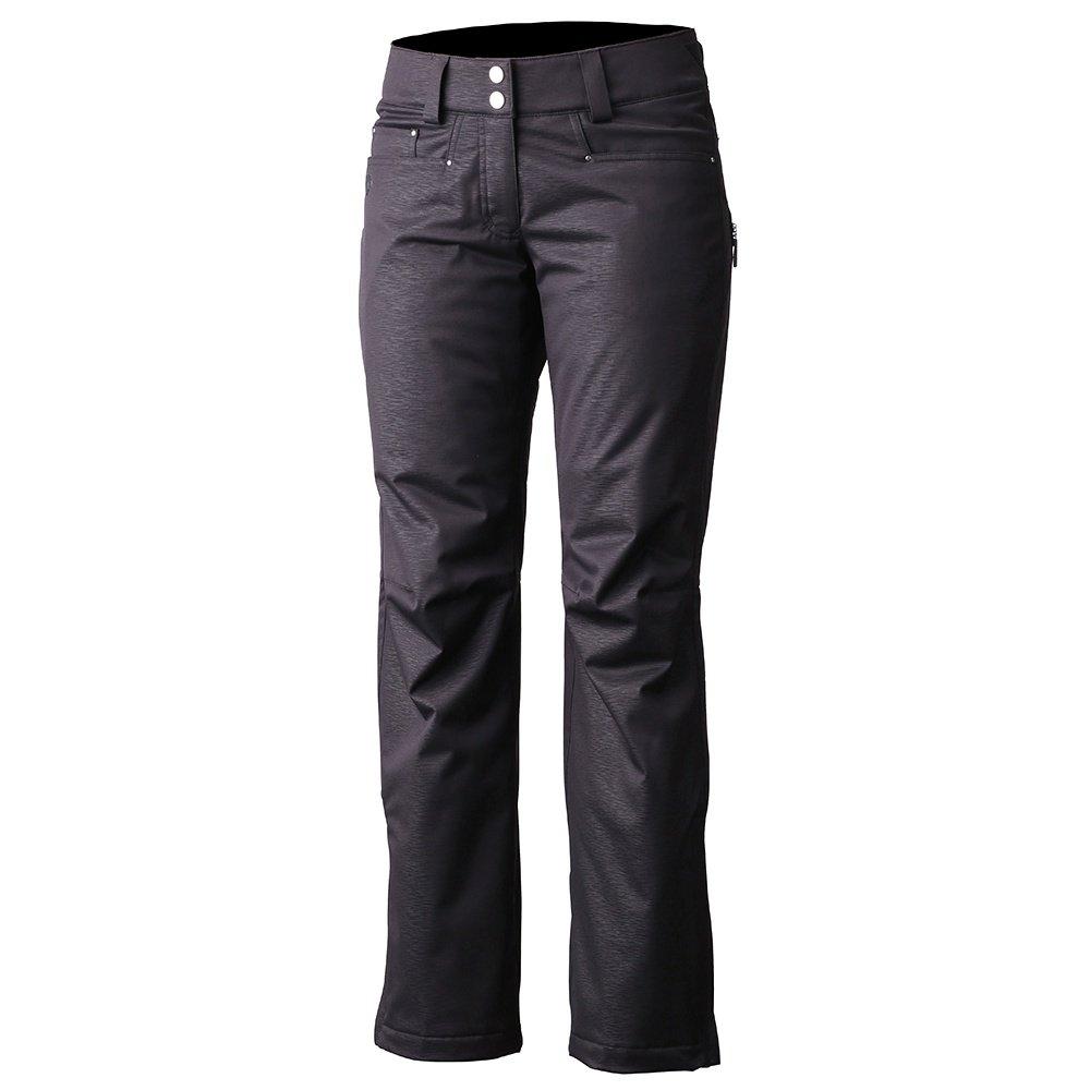 Descente Selene 2 Insulated Ski Pant (Women's) - Black Air Flow Emboss