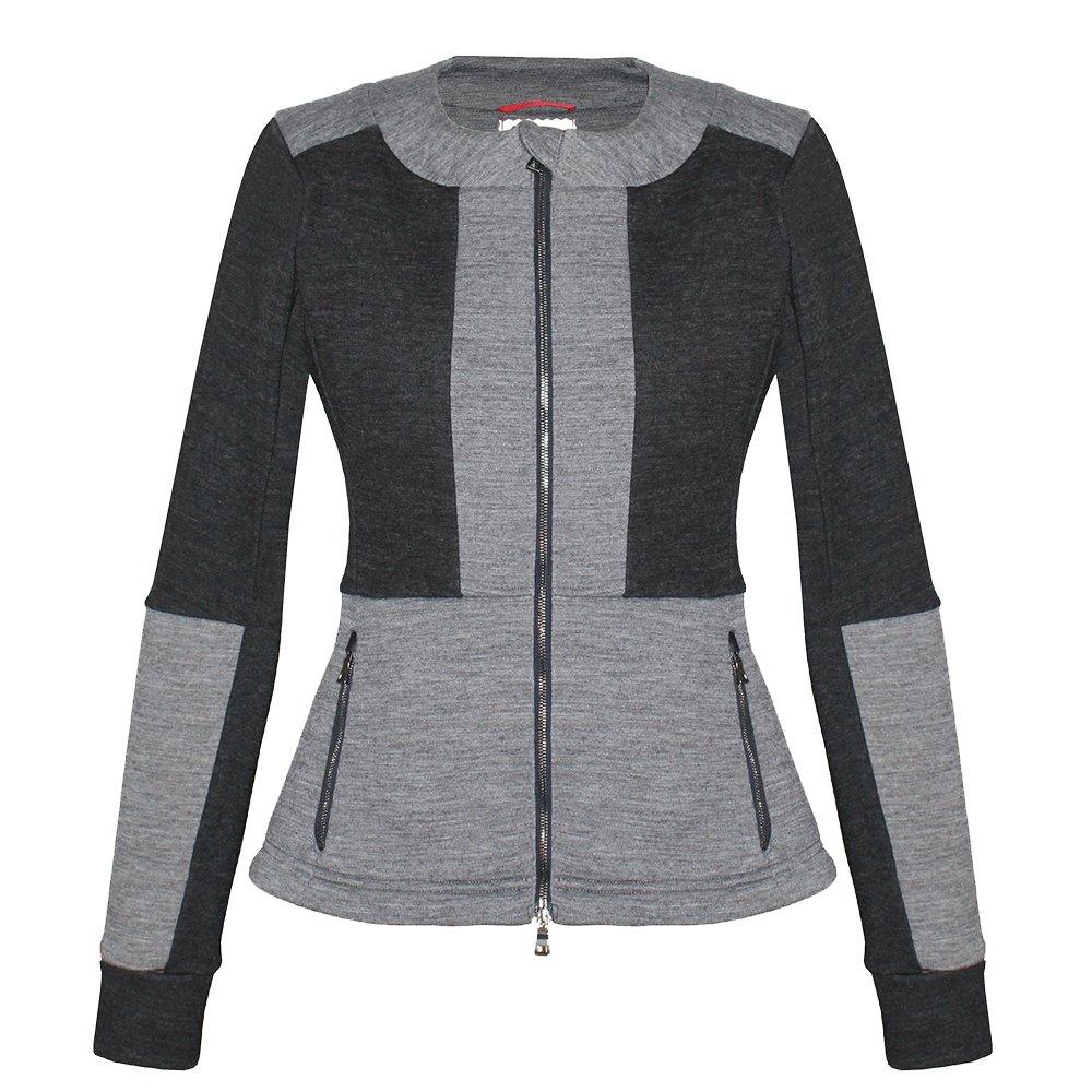 Erin Snow Aria Merino Scuba Jacket (Women's) - Charcoal/Heather