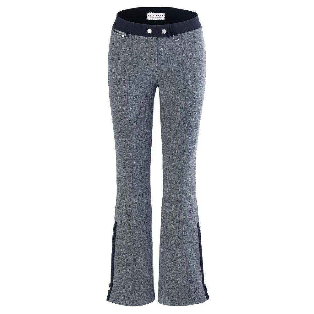 Erin Snow Teri Merino Insulated Ski Pant (Women's) - Heather/Black