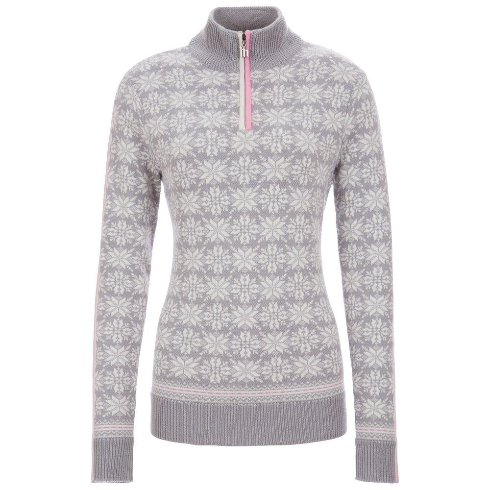 Meister Portia 1/4-Zip Sweater (Women's) - Pearl Gray