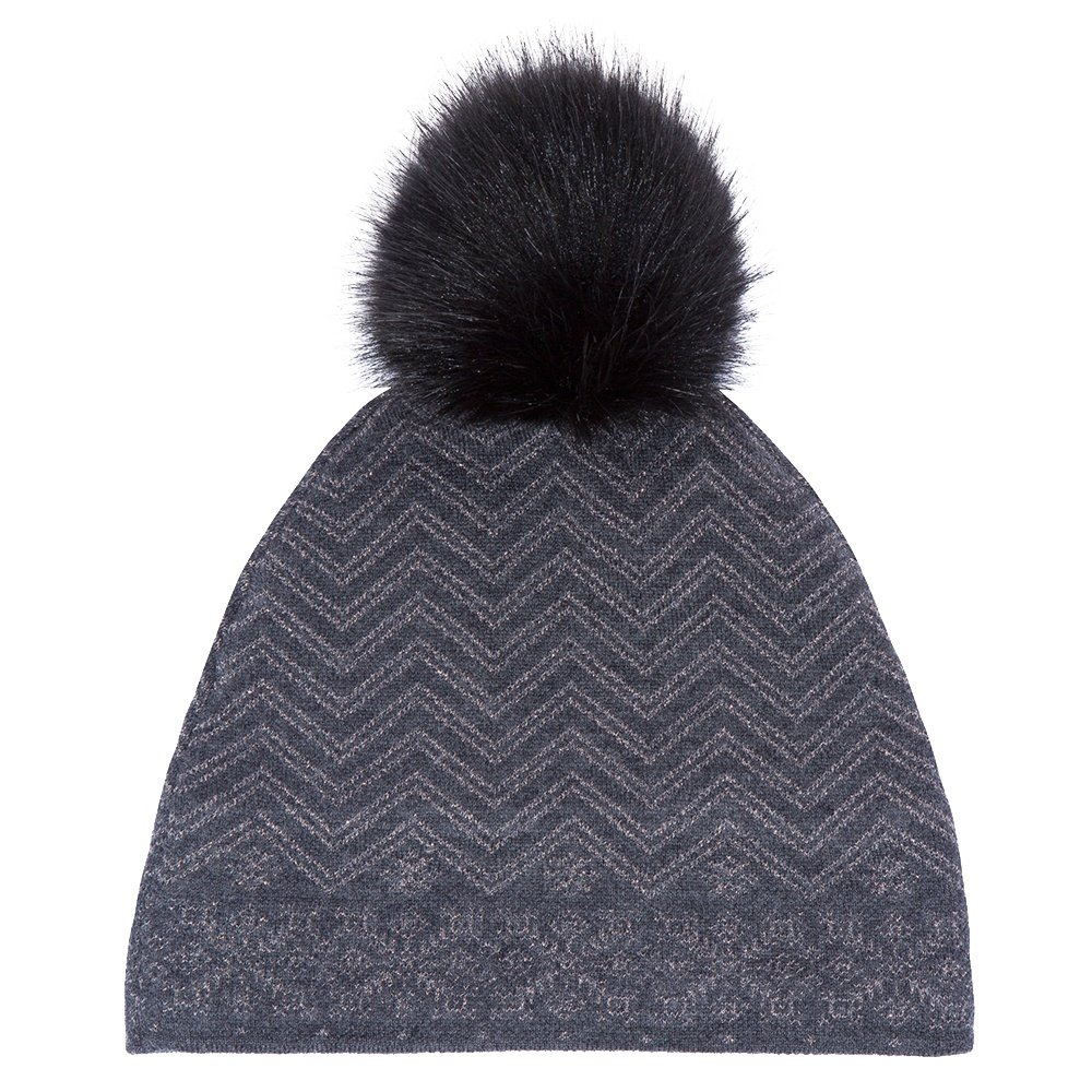 Meister Felicity Hat (Women's) - Charcoal Gray/Pewter Metallic