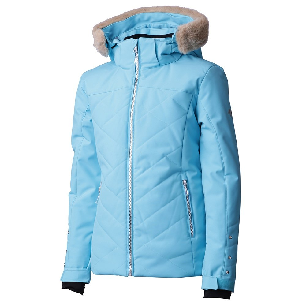 Descente Sami Insulated Ski Jacket (Girls') - Cerulean Blue/Midnight Shadow