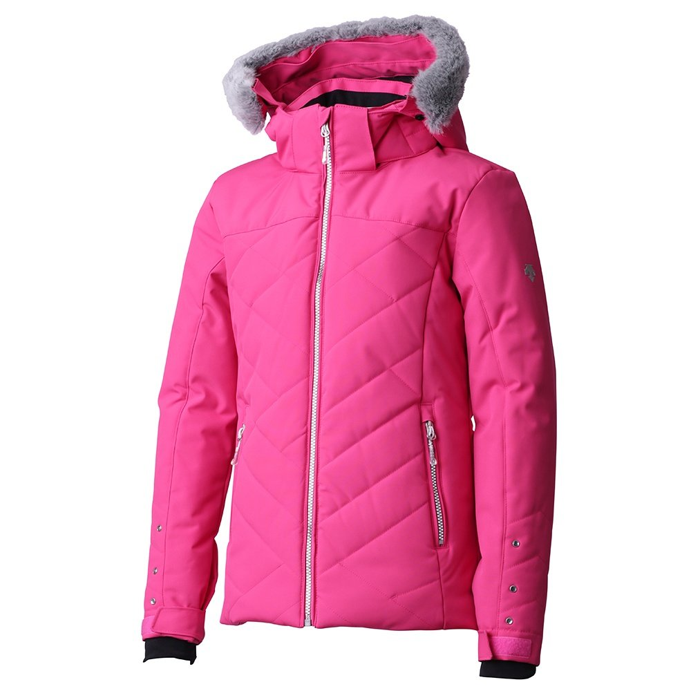 Descente Sami Insulated Ski Jacket (Girls') - Pink/Black