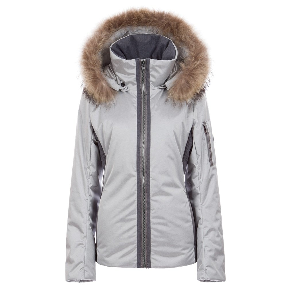 Fera Danielle2 Insulated Ski Parka with Real Fur (Women's) - Silver