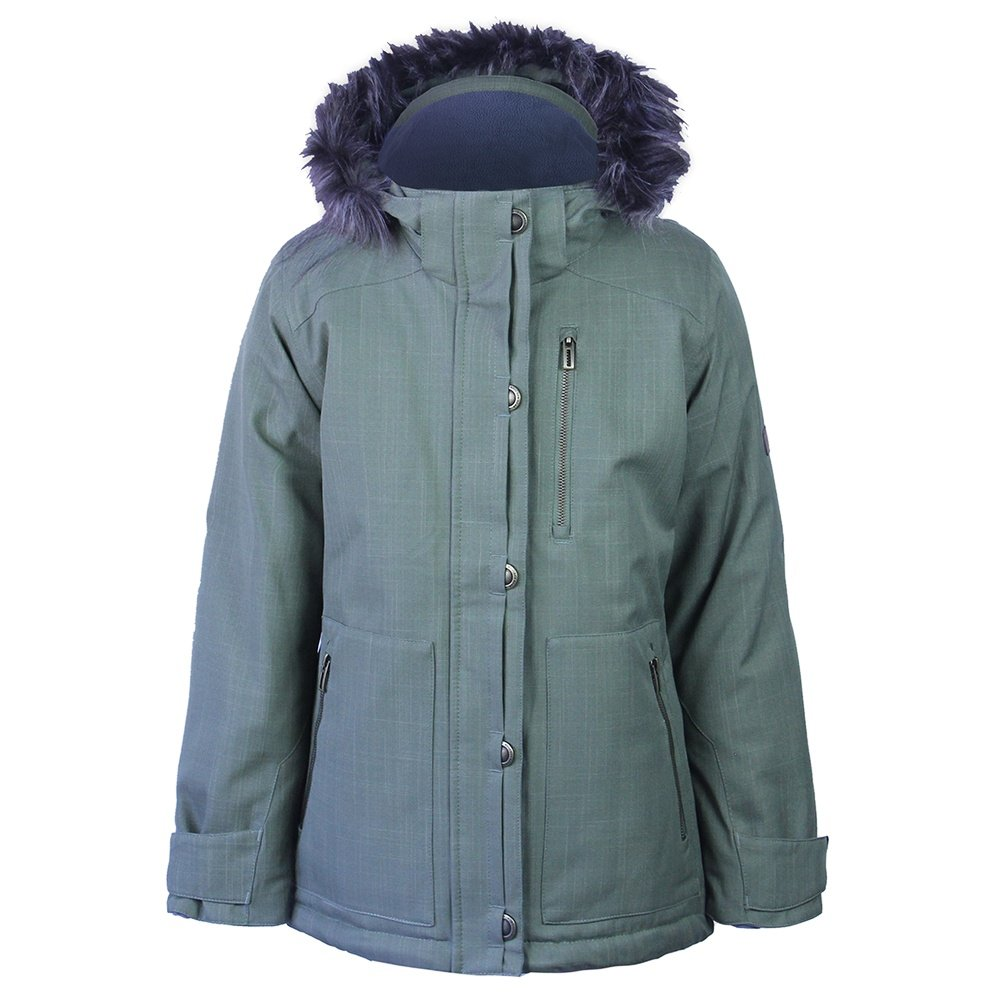 Boulder Gear Harper Insulated Ski Jacket (Girls') - Olive Texture