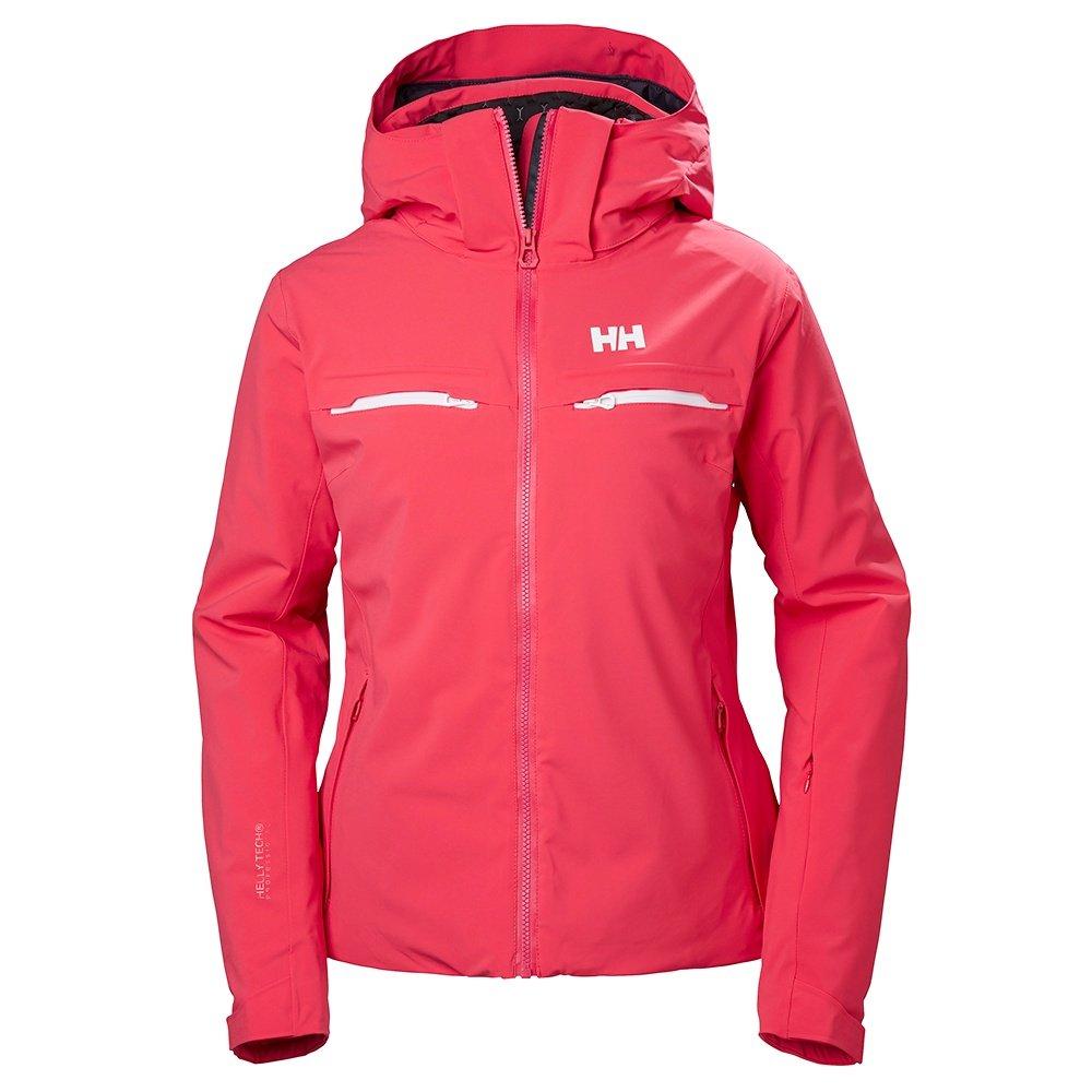Helly Hansen Alphelia Insulated Ski Jacket (Women's) - Goji Berry