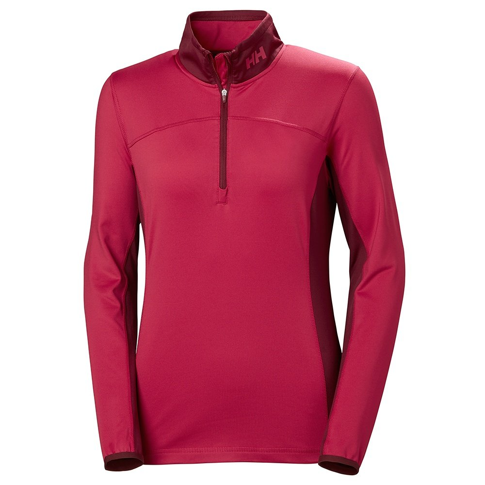 Helly Hansen Phantom 2.0 1/2-Zip Mid-Layer (Women's) - Persian Red