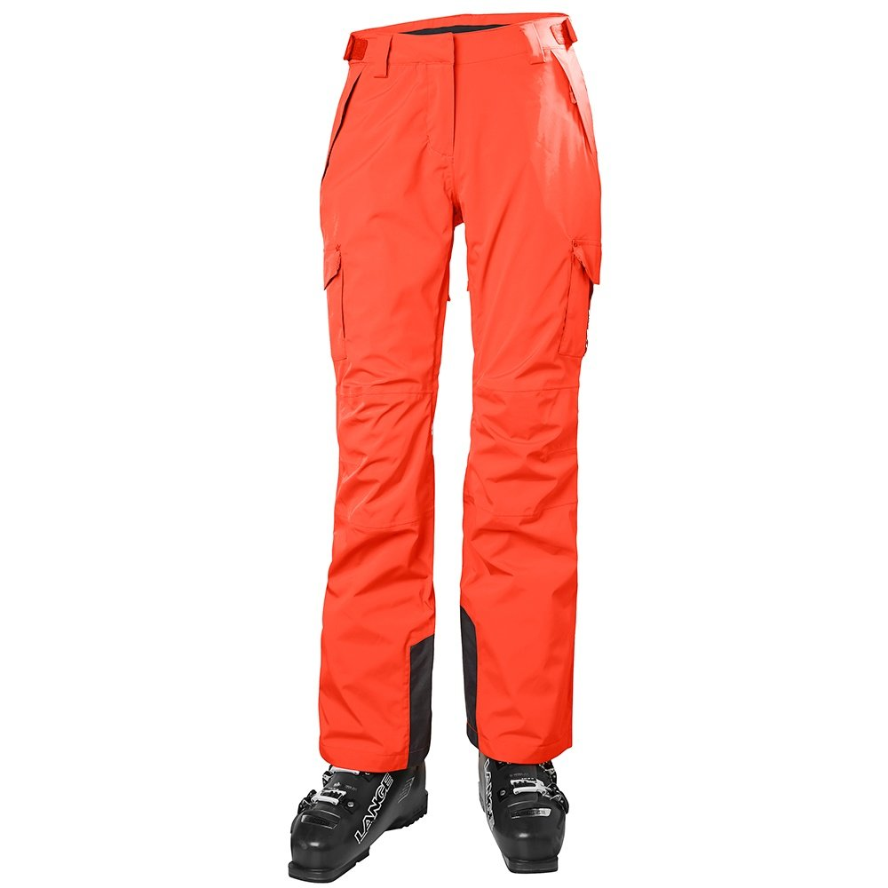 Helly Hansen Switch Cargo 2.0 Insulated Ski Pant (Women's) - Neon Coral