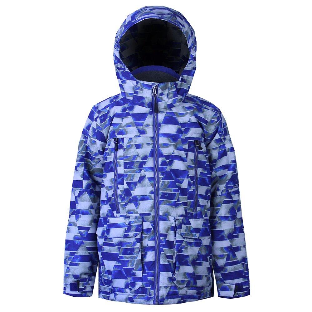 Boulder Havoc Insulated Ski Jacket (Boys') - Alloy Print