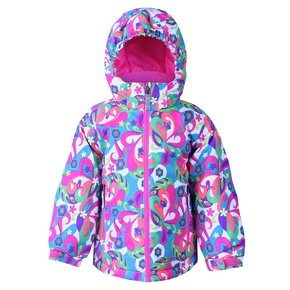 Boulder Gear Pixie Insulated Ski Jacket (Little Girls') - Get Groovy Print