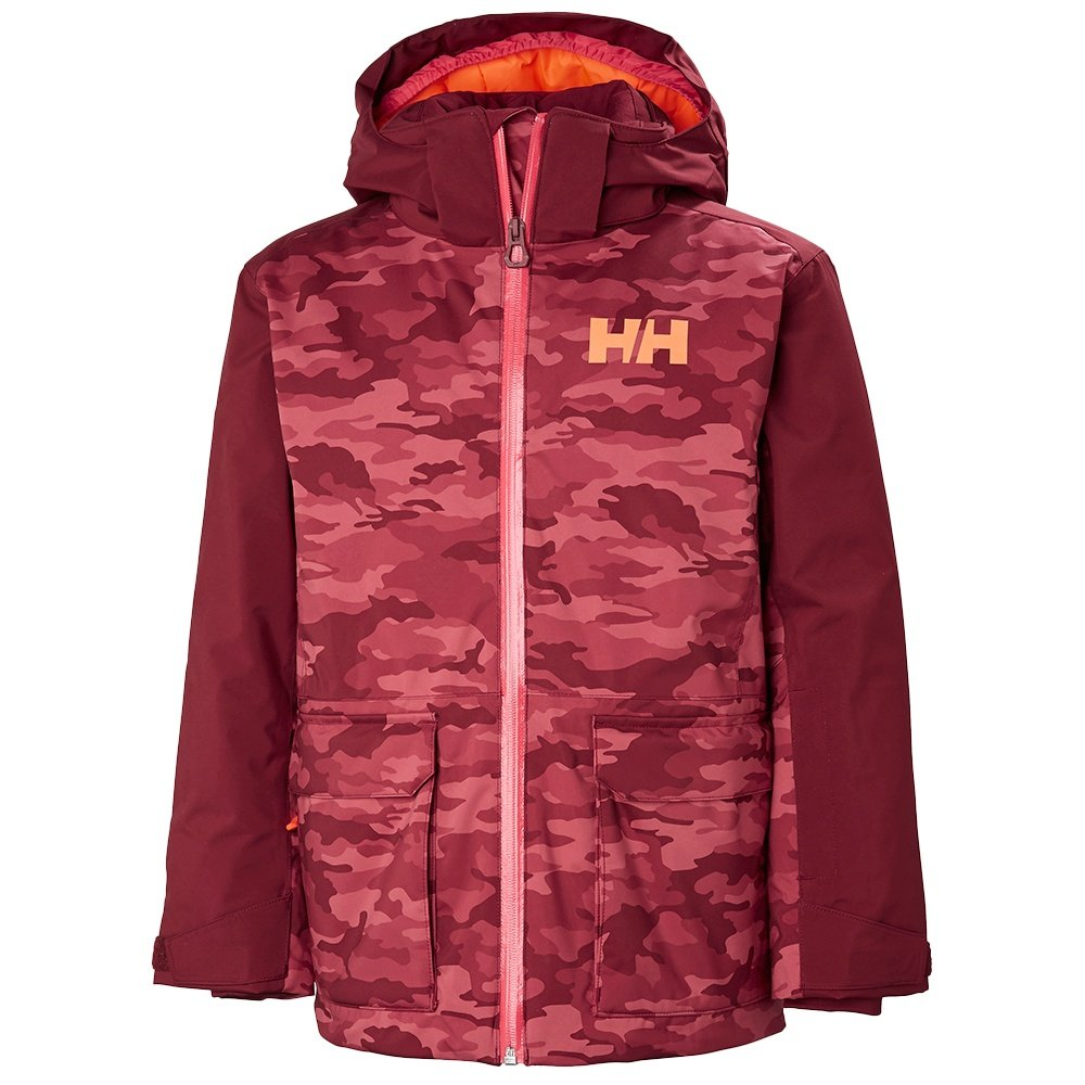 Helly Hansen Skyhigh Insulated Ski Jacket (Kids') - Cabernet