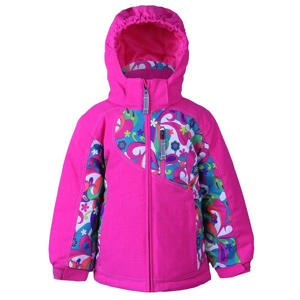 Boulder Gear Zesty Insulated Ski Jacket (Little Girls') - Pink Get Groovy