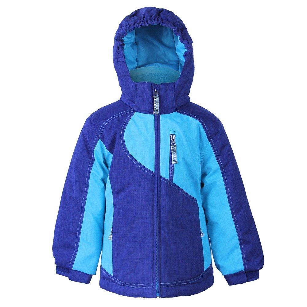 Boulder Gear Zesty Insulated Ski Jacket (Little Girls') - Navy Peony