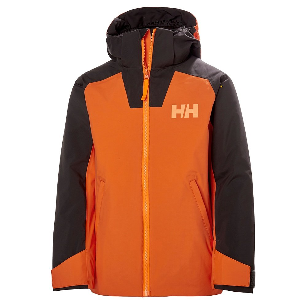 Helly Hansen Twister Insulated Ski Jacket (Boys') - Bright Orange