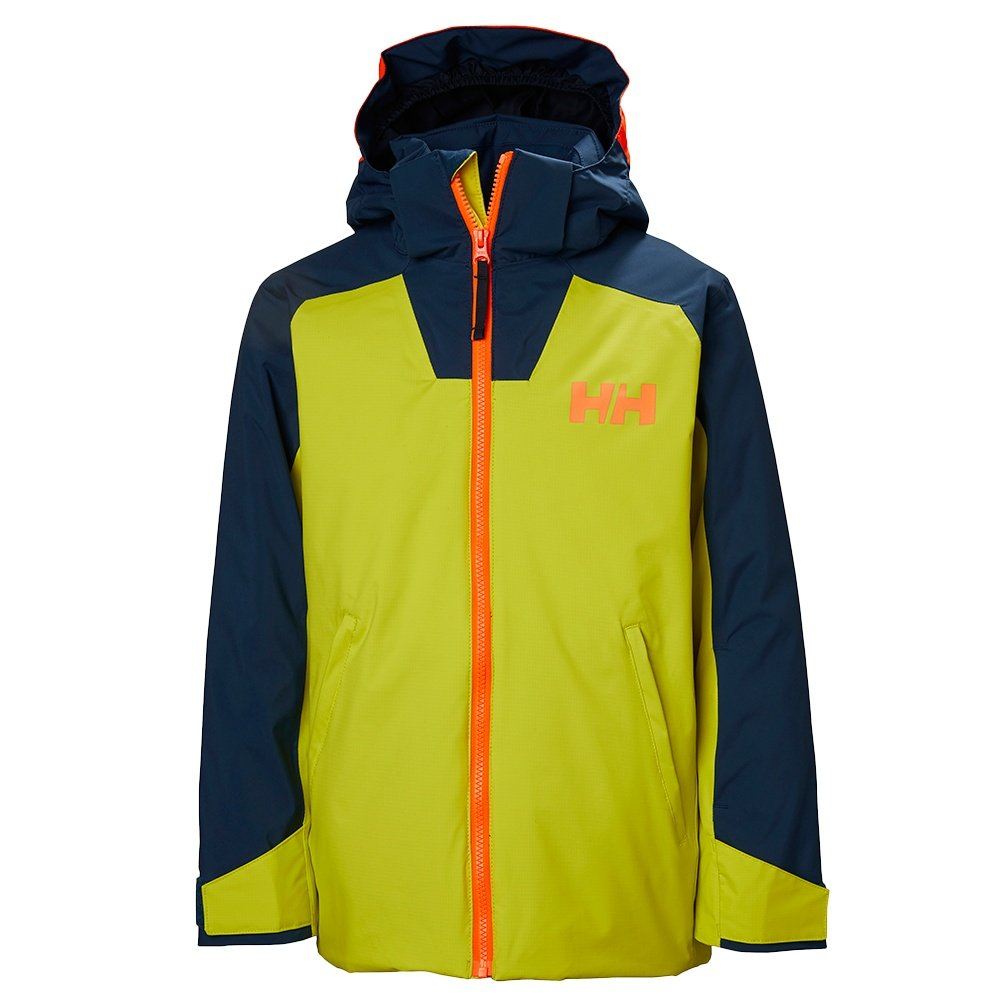 Helly Hansen Twister Insulated Ski Jacket (Boys') - Sweet Lime