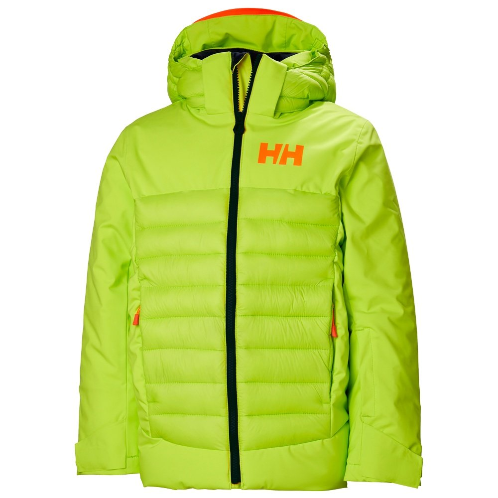 Helly Hansen Summit Insulated Ski Jacket (Kids') - Azid Lime