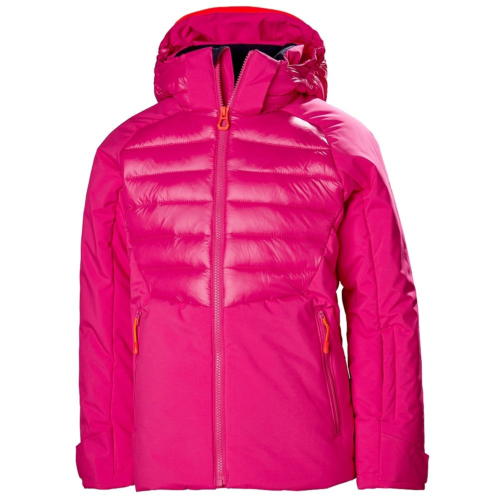 Helly Hansen Snowstar Insulated Ski Jacket (Kids') - Dragon Fruit