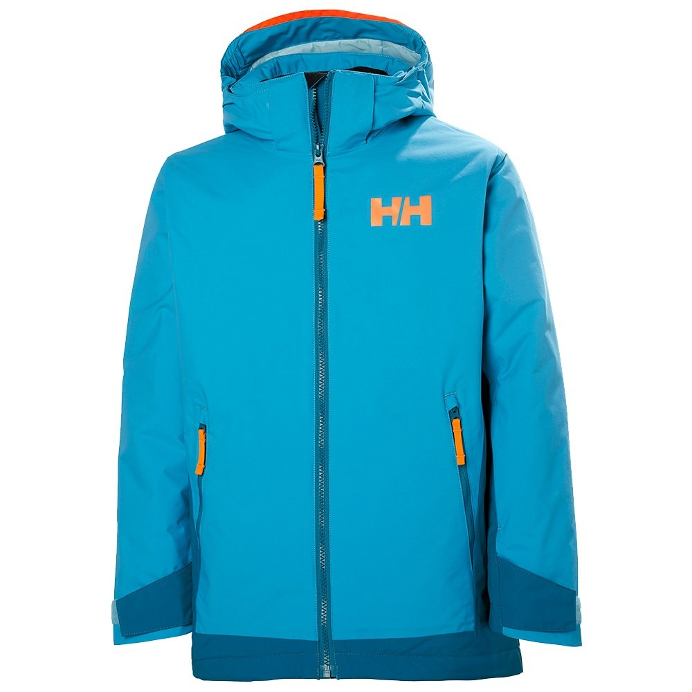 Helly Hansen Hillside Insulated Ski Jacket (Girls') - Scuba Blue