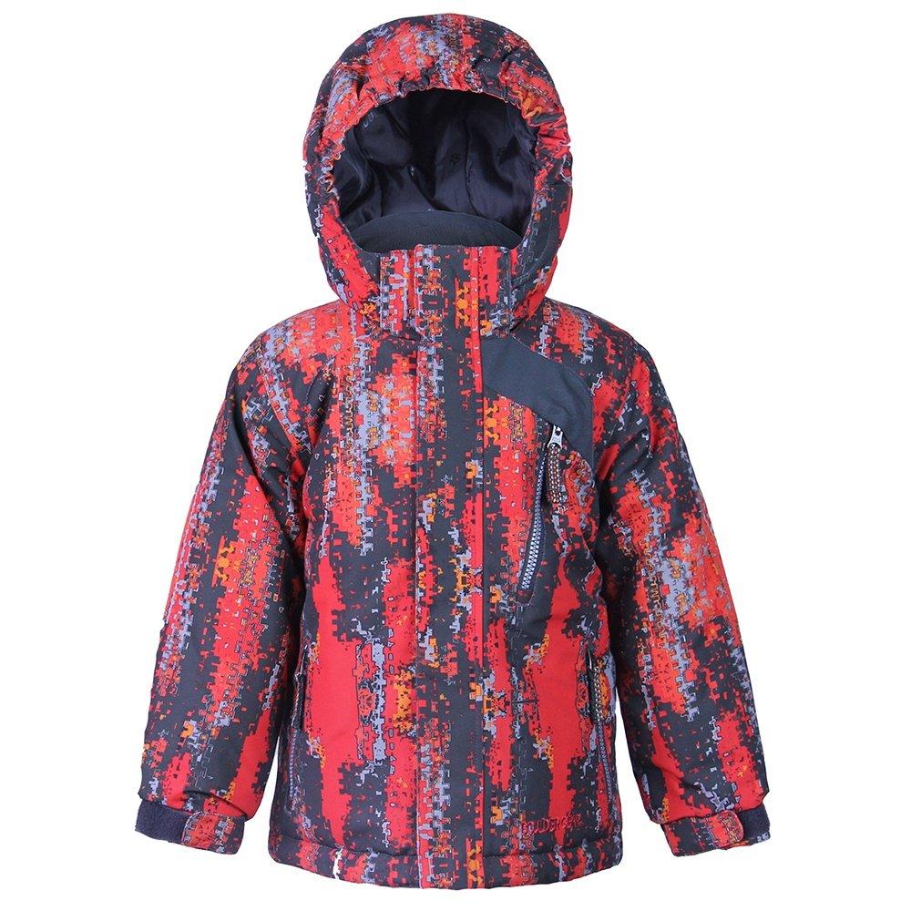 Boulder Gear Prankster Insulated Ski Jacket (Little Boys') - Smoulder Print