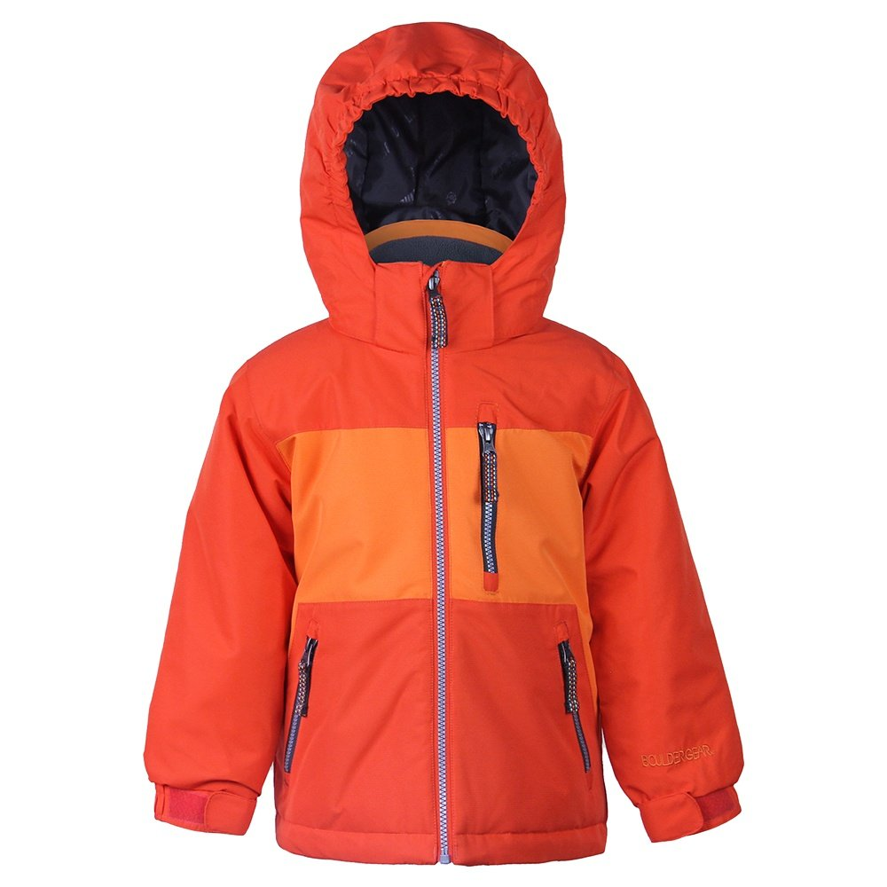 Boulder Gear Gambit Insulated Ski Jacket (Little Boys') - Deep Orange
