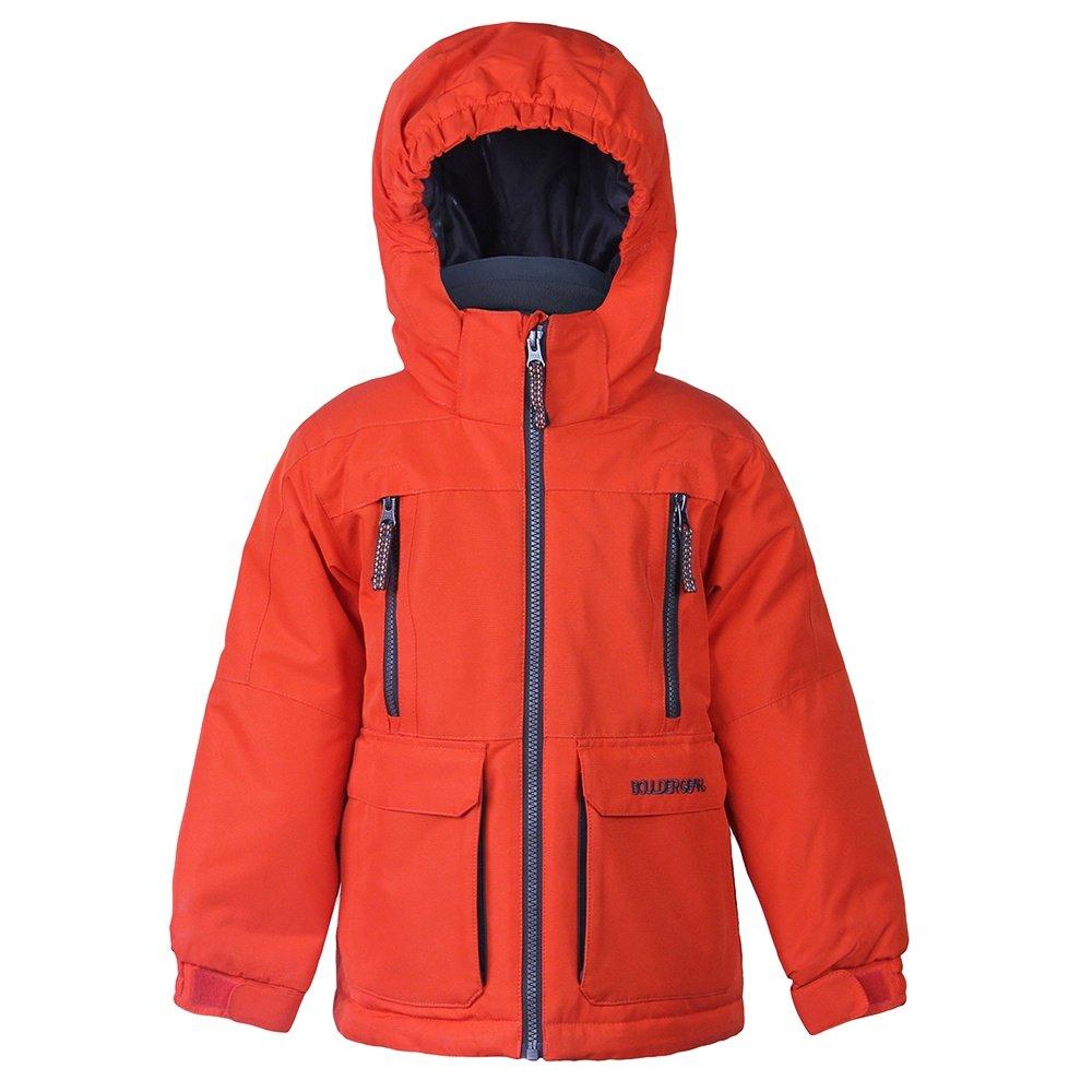 Boulder Gear Raucous Insulated Ski Jacket (Little Boys') - Deep Orange