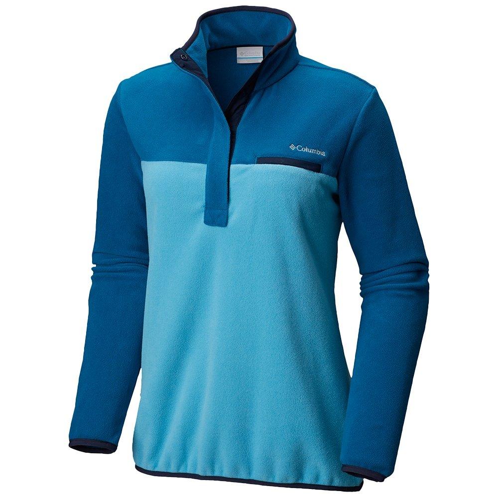 Columbia Mountain Side Plus Pullover Fleece (Women's) - Beta/Lagoon