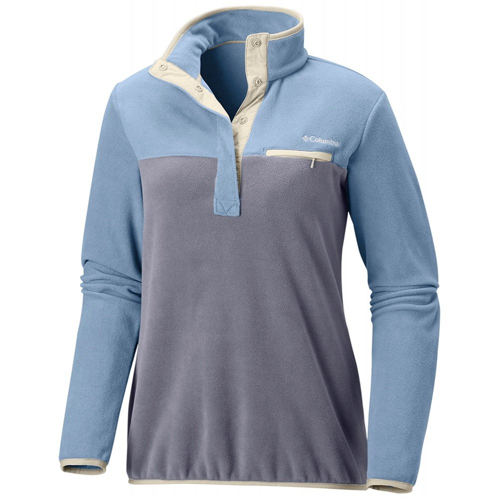 Columbia Mountain Side Plus Pullover Fleece (Women's) - Faded Sky/Astral