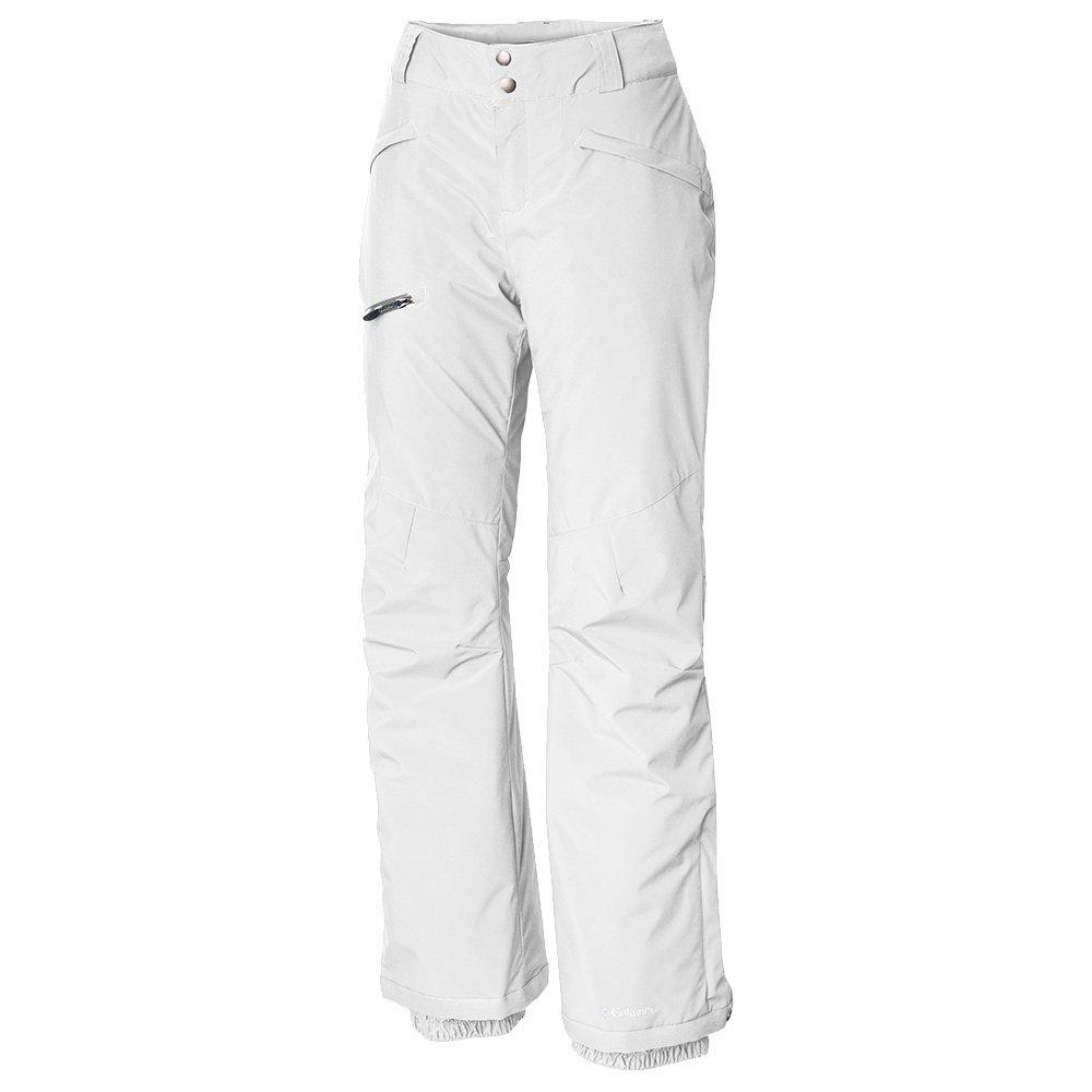 Columbia Wildside Insulated Ski Pant (Women's) - White/Cirrus