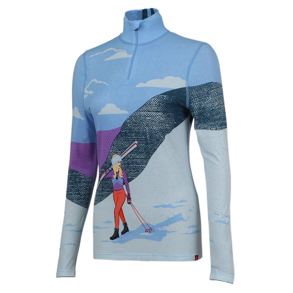 Krimson Klover Backcountry 1/4-Zip Sweater (Women's) - Placid Blue