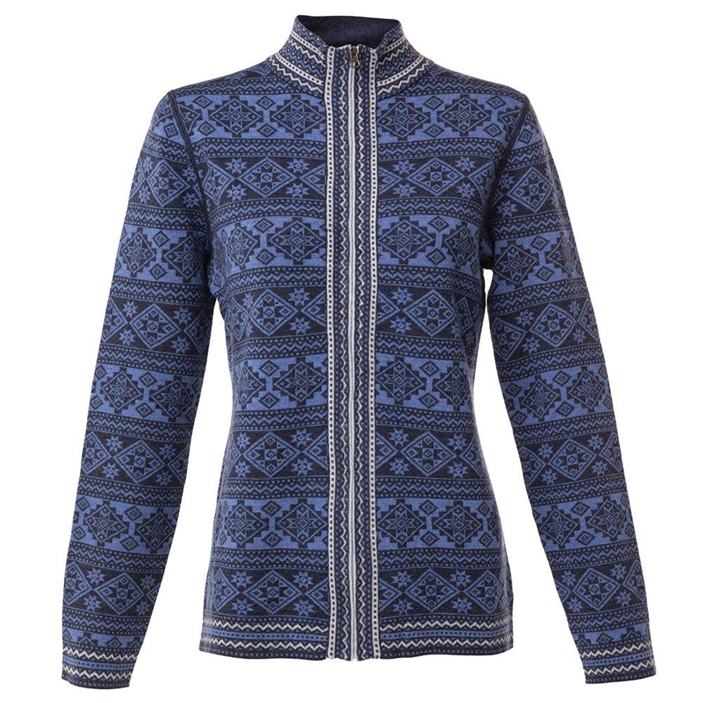 Krimson Klover Sonora Full Zip Sweater (Women's) - Illusion Blue
