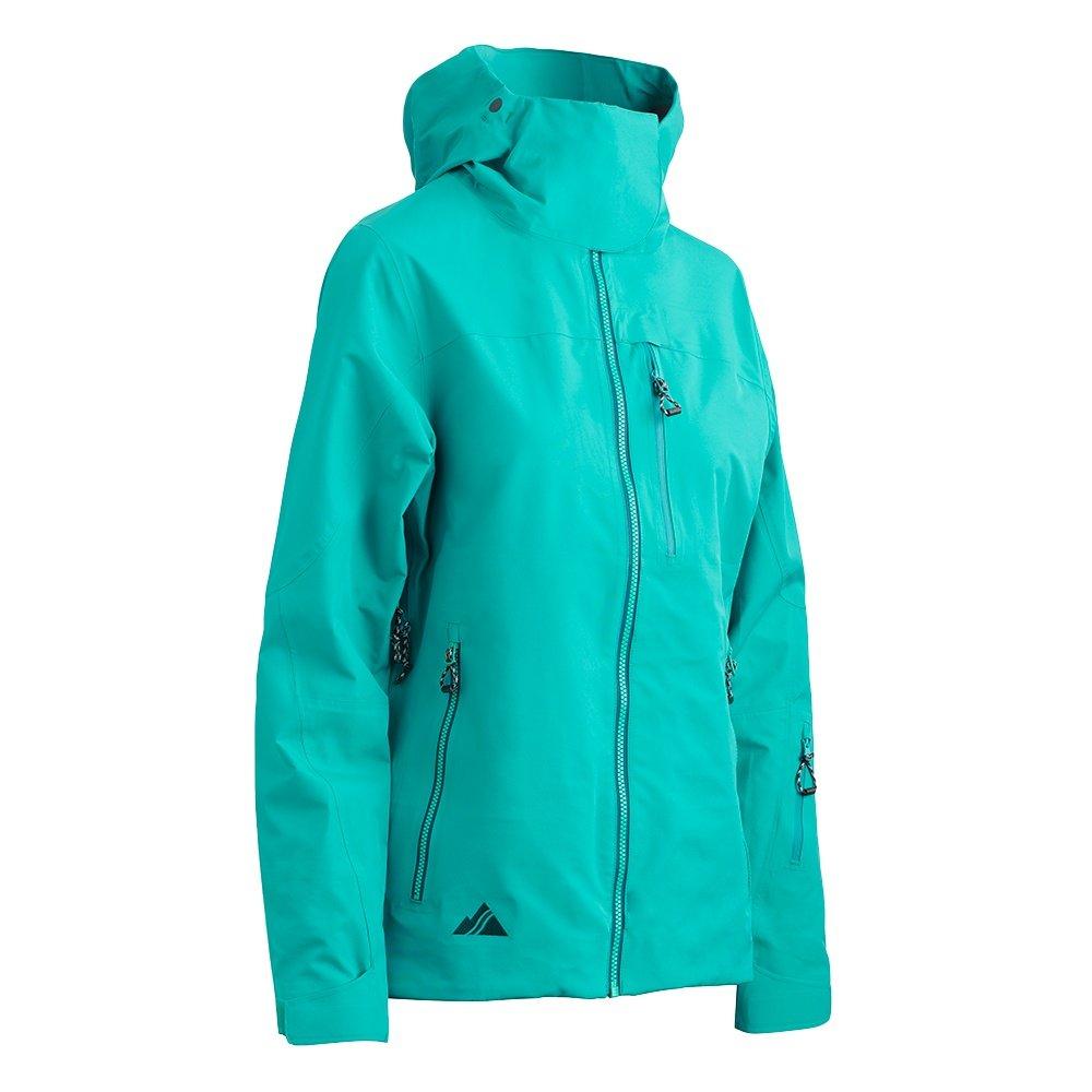 Strafe Meadow Shell Ski Jacket (Women's) - Emerald Green