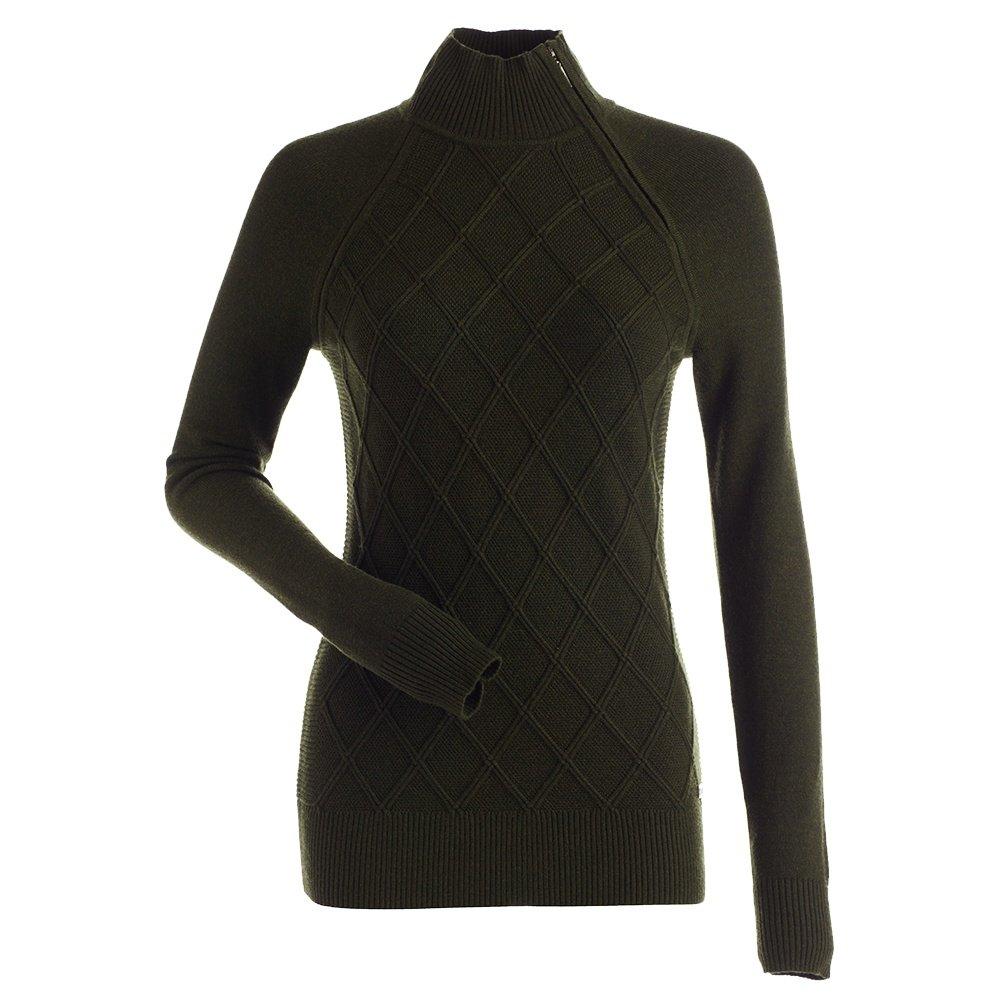 Nils Monique 1/4-Zip Sweater (Women's) - Loden