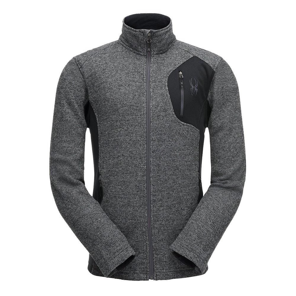 Spyder Bandit Full-Zip Stryke Jacket (Men's) - Black/Polar