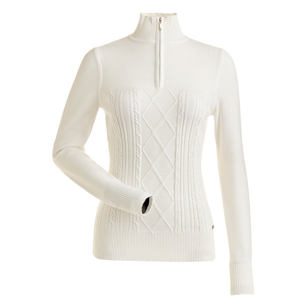 Nils Michelle 1/4-Zip Sweater (Women's) - White