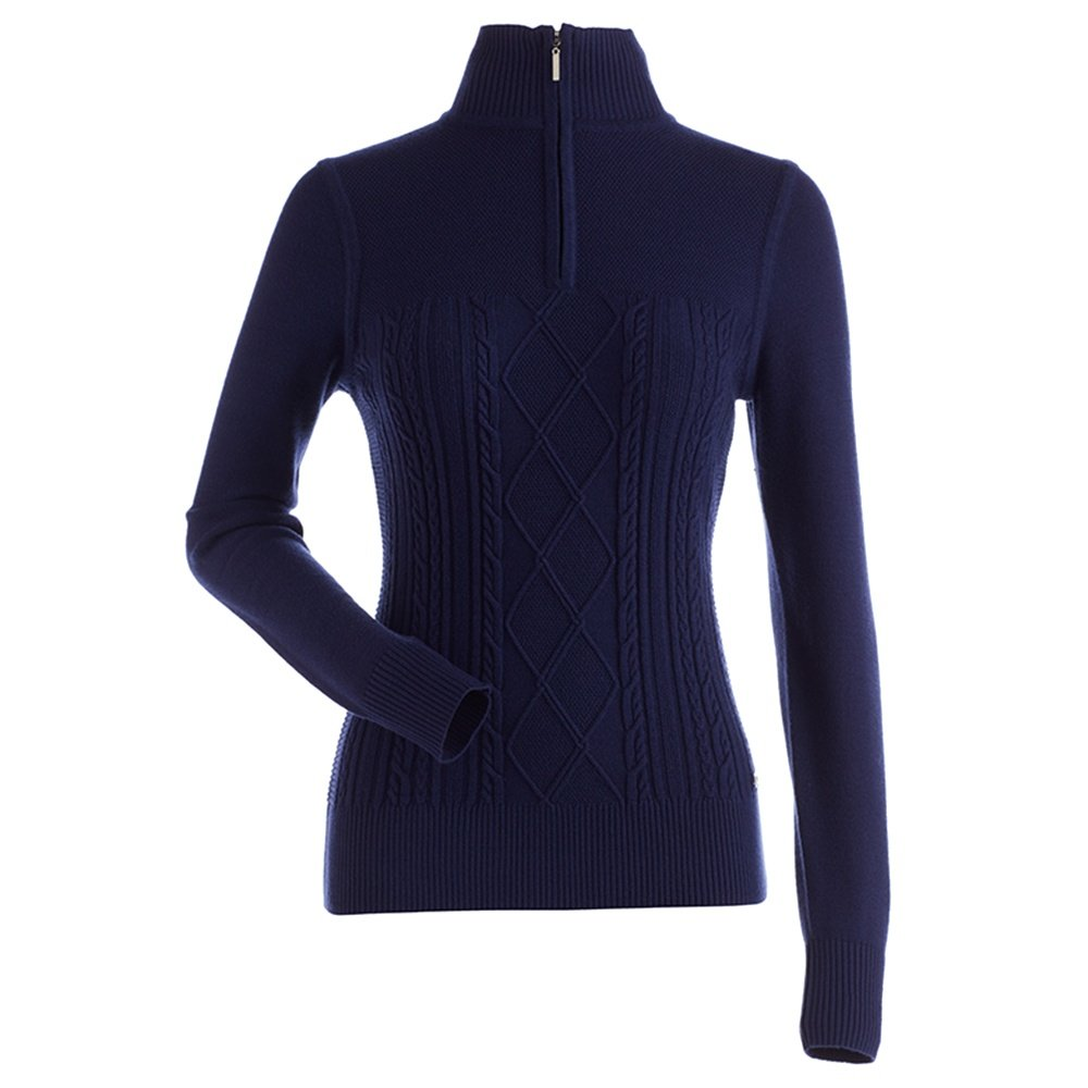 Nils Michelle 1/4-Zip Sweater (Women's) - Navy